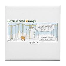 The Gates Tile Coaster