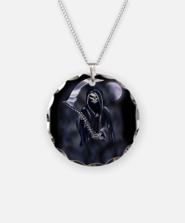 Grim Reaper (nb12) Necklace