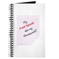 Field Spaniel Homework Journal