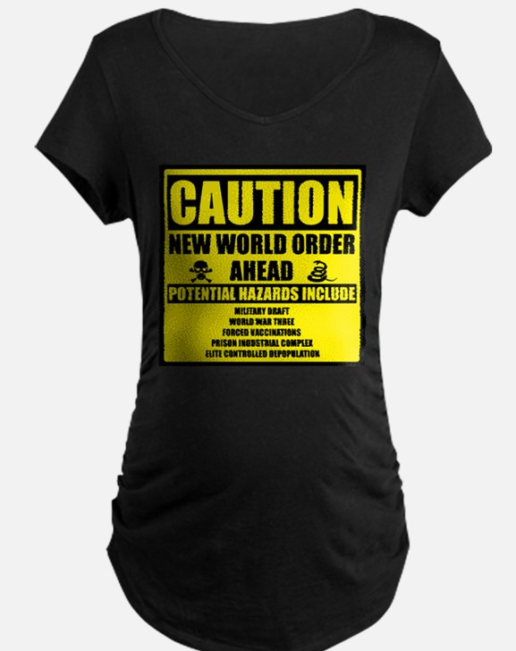 illuminati new world order 911 Maternity T-Shirt
