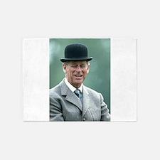 HRH Prince Philip Windsor 5'x7'Area Rug
