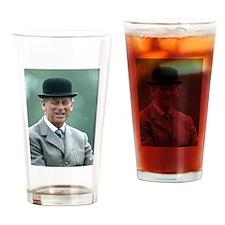 HRH Prince Philip Windsor Drinking Glass