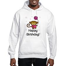 Happy Birthday Monkey Hoodie
