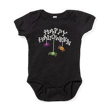 Happy Halloween Bones Baby Bodysuit