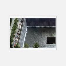 September 11 Memorial NYC 5'x7'Area Rug