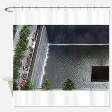 September 11 Memorial NYC Shower Curtain