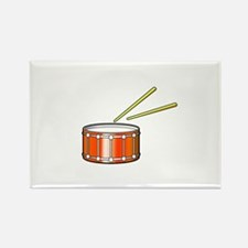 orange snare graphic with sticks Magnets