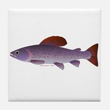 Arctic Grayling Tile Coaster