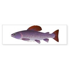 Arctic Grayling Bumper Bumper Sticker