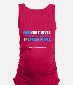 God Only Gives (Autism Awareness) Maternity Tank T