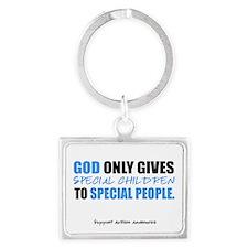 God Only Gives (Autism Awareness) Landscape Keycha