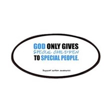 God Only Gives (Autism Awareness) Patches