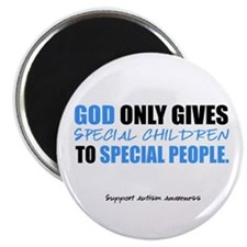 God Only Gives (Autism Awareness) Magnet