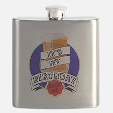 It's My Bday Beer Me Flask