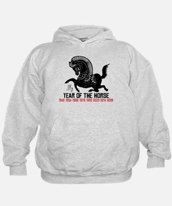 Chinese Zodiac Years of The Horse Hoodie