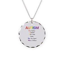 Autism Ask Questions Necklace