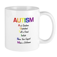Autism Ask Questions Mug