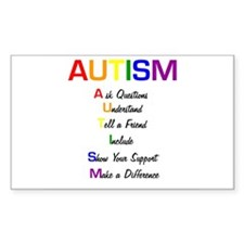 Autism Ask Questions Decal