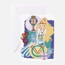 Celtic Ophiuchus Greeting Cards