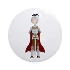 Knight Ornament (Round)