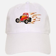 Wingless Flaming Sprint Baseball Baseball Cap