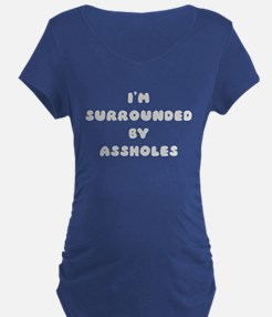 surrounded Maternity T-Shirt