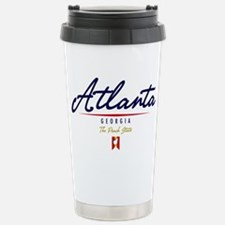 Atlanta Script Travel Mug