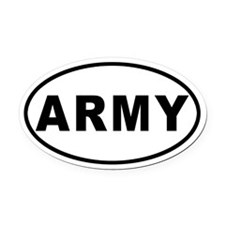 ARMY Oval Car Magnet