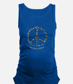 Give Bees A Chance Maternity Tank Top
