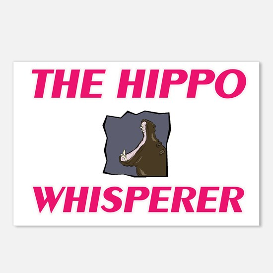 The Hippo Whisperer Postcards (Package of 8)