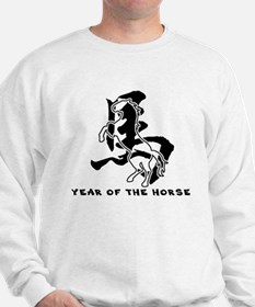 Chinese Zodiac Year of The Horse Sign Sweatshirt