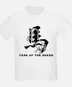 Chinese Zodiac Year of The Horse Sign T-Shirt