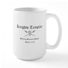 Knights Templar Spilling Sara Mugs