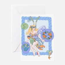 Celtic Pisces Greeting Cards
