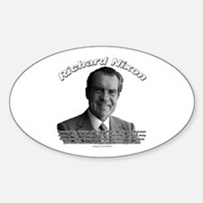 Richard Nixon 02 Oval Decal