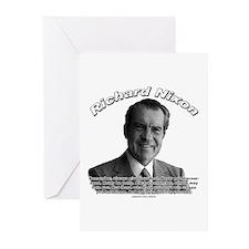 Richard Nixon 02 Greeting Cards (Pk of 10)