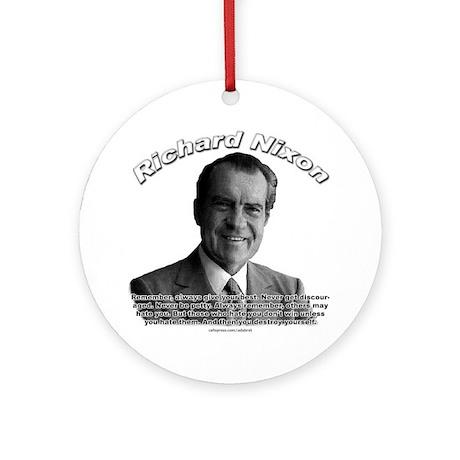 Richard Nixon 02 Ornament (Round)