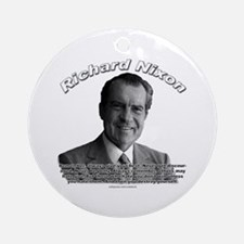Richard Nixon 02 Ornament (Round)