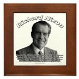 Richard nixon Framed Tiles