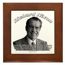 Richard Nixon 02 Framed Tile