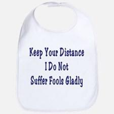 Keep Your Distance Bib