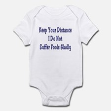 Keep Your Distance Infant Bodysuit