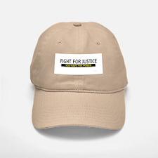 Fight for Justice Baseball Baseball Cap