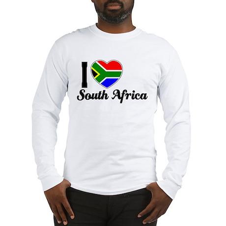 I love South Africa Long Sleeve T-Shirt