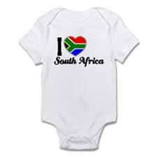 I love South Africa Infant Bodysuit
