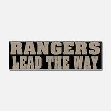 Rangers - Lead Car Magnet 10 x 3
