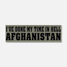 Afghanistan - Hell Car Magnet 10 x 3