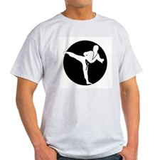 karate2006a Ash Grey T-Shirt