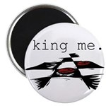 KING ME Checkers Magnet