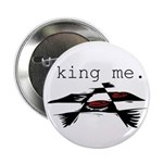 KING ME Checkers Button